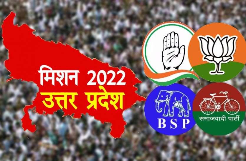 Uttar Pradesh Assembly Election 2022: कांग्रेस को उम्मीदवारों की तलाश, बाकी दल संगठन मजबूत करने में जुटे