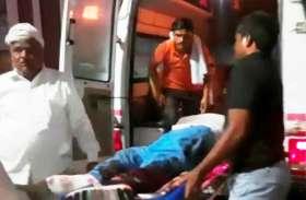 बारात में जा रहे कार सवारों को ट्रक ने मारी टक्कर, चार बाराती घायल