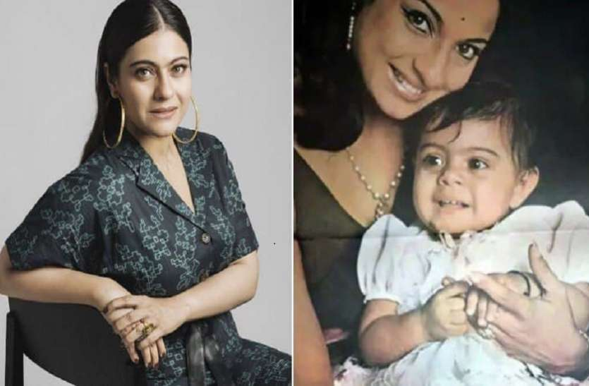 Kajol Childhood Unseen Pics Goes Viral With Her Mom Tanuja