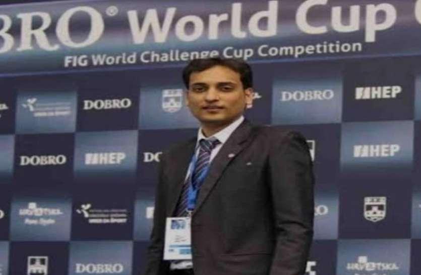tokyo olympics 2020 : सूरत के दीपक काबरा जिम्नास्टिक में बने पहले भारतीय जज