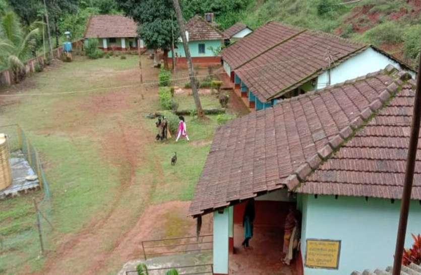 मरसणिगे सरकारी विद्यालय में 41 बच्चों पर मात्र एक शिक्षक