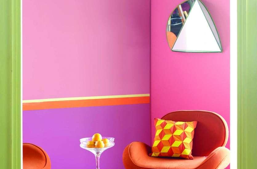 घर में पॉजिटिविटी लाते हैं रंग, सही हो चुनाव