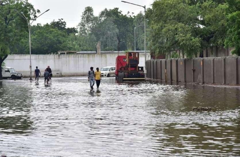 गुजरात मेें हो चुकी है मौसम की 25 प्रतिशत से अधिक बारिश