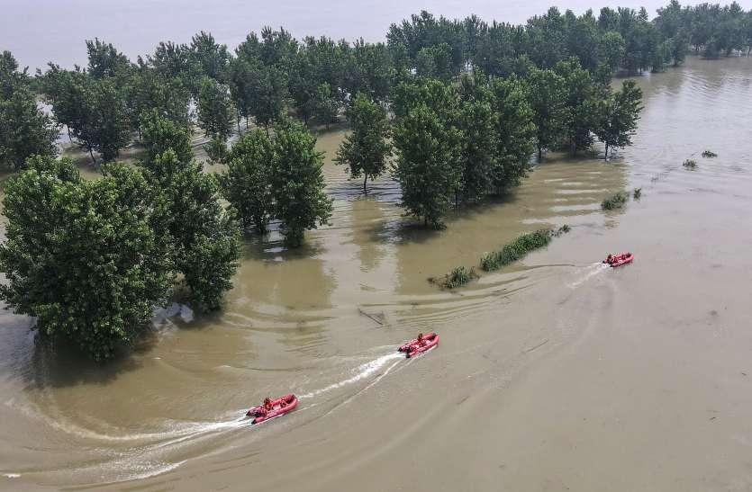 Heavy floods in Henan province