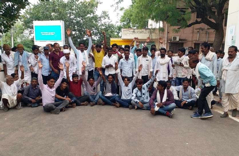 करौली जिले में डांग क्षेत्र की इस ग्राम पंचायत मुख्यालय पर समस्याओं का अंबार