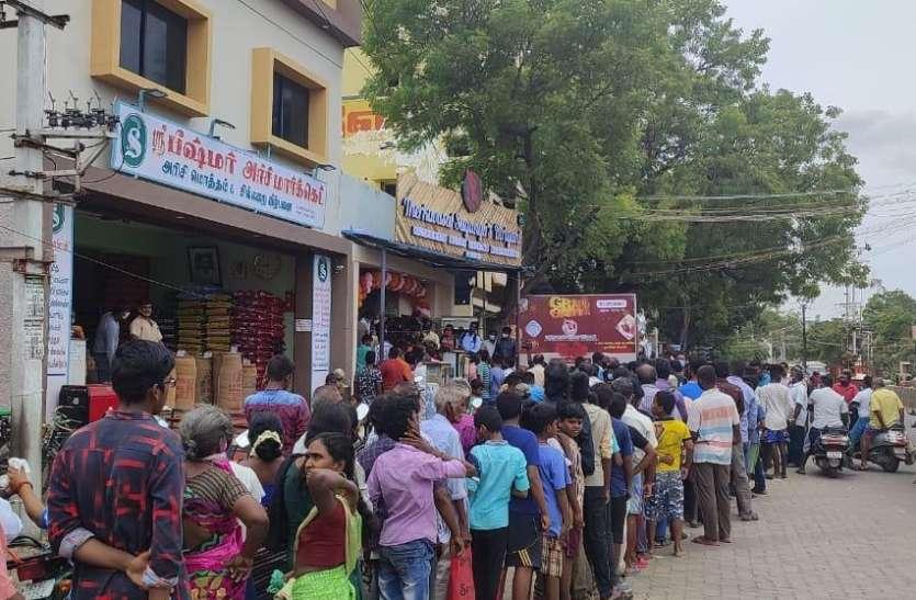 मदुरै में 5 पैसे की बिरयानी के लिए दुकान पर टूट पड़ी भीड़, 300 लोगों की लग गई लंबी लाइन