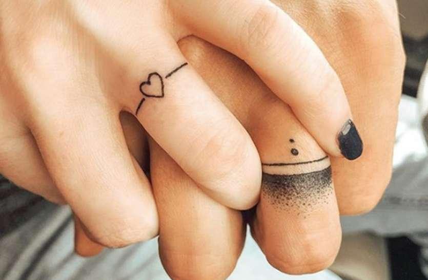 रिश्तों की मजबूत डोर बना 'रिंग टैटू'