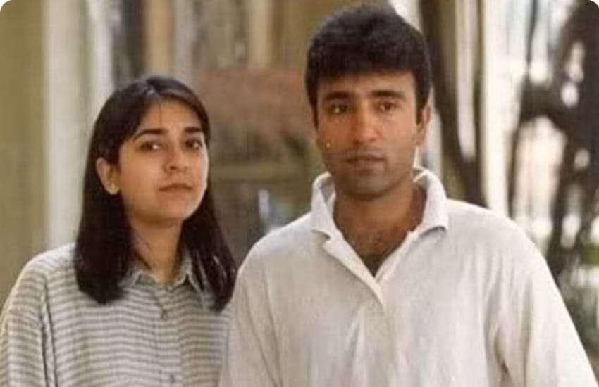 Saeed Anwar and Lubna