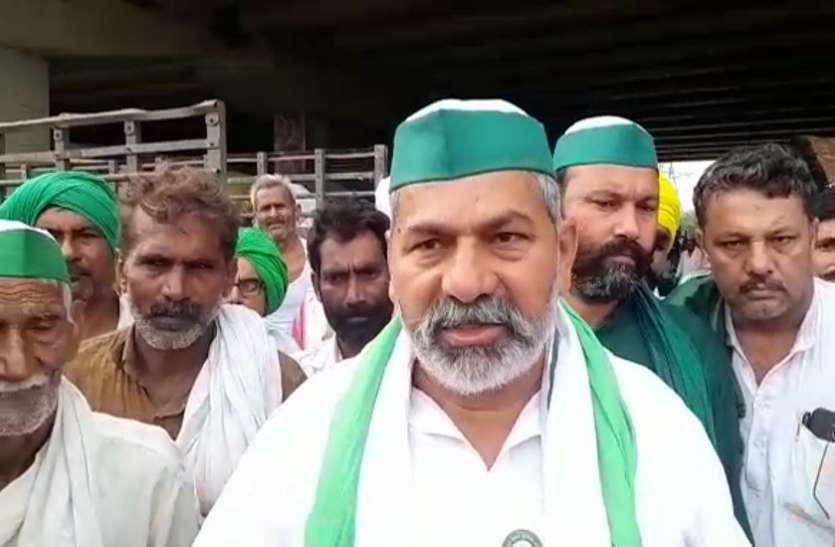 Kisan Andolan : संसद के बाहर धरना देने के लिए गाजीपुर बॉर्डर से 200 किसानों ने किया कूच, दिल्ली पुलिस भी मुस्तैद