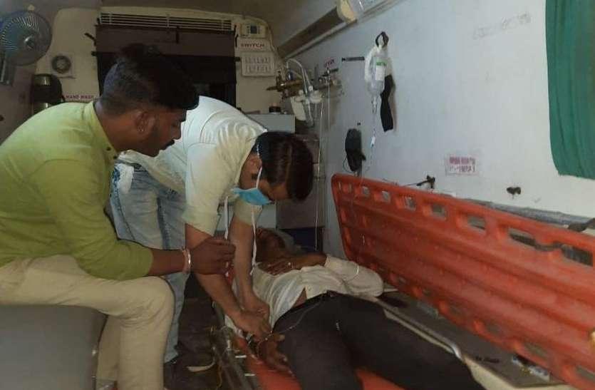 कुंभलगढ़ में अवैध सफारी के दौरान जिप्सी पलटी, चालक गम्भीर