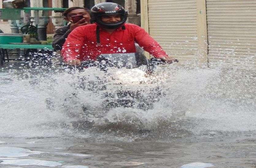 आज पूर्वी राजस्थान में होगी बरसात, सूखे रहेंगे पश्चिमी जिले
