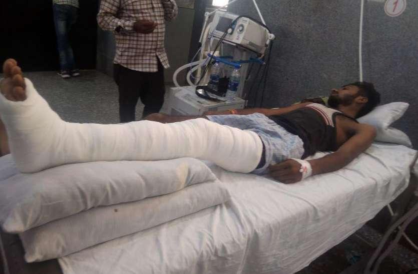 सोमेसर गांव से अपहृत एक युवक घायल अवस्था में अस्पताल के पास मिला