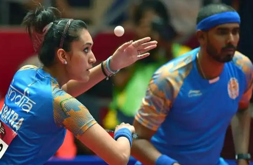 टोक्यो ओलंपिक: भारतीय टेबल टेनिस के ड्रॉ घोषित, चीनी ताइपे से होगा मनिका-शरत का सामना