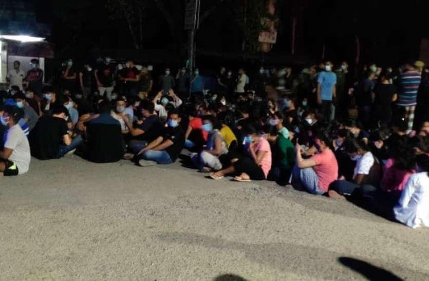 मेडिकल कॉलेज में घुसकर बाहरी लड़कों ने MBBS की छात्रा से की छेड़छाड़
