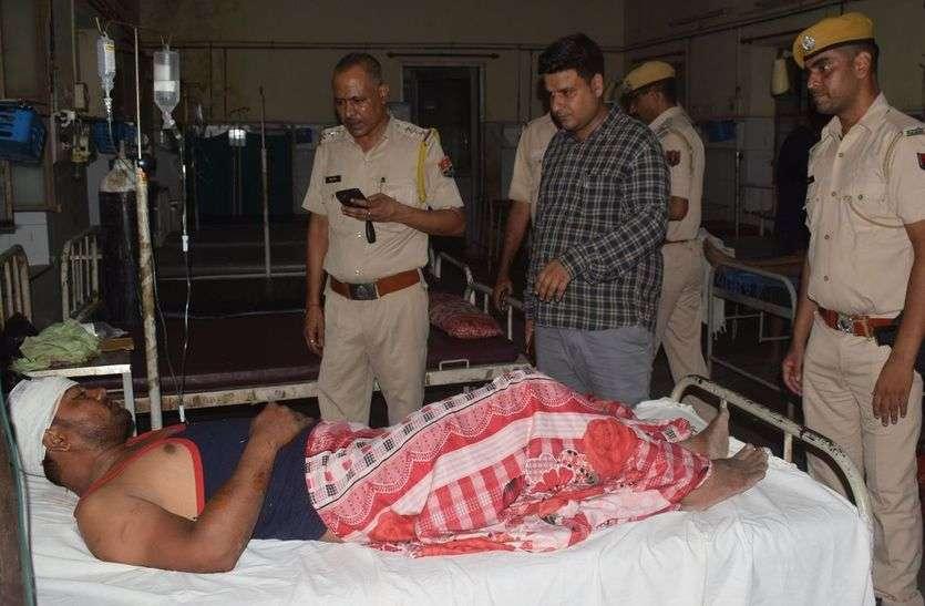 दिनदहाड़े युवक  का अपहरण, पुलिस ने पीछा कर छुड़ाया, आरोपी फरार