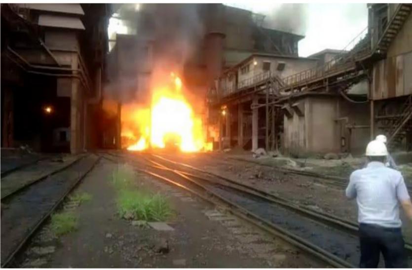 झारखंड: बोकारो स्टील प्लांट में लगी भीषण आग, करोड़ों रुपये के नुकसान की संभावना
