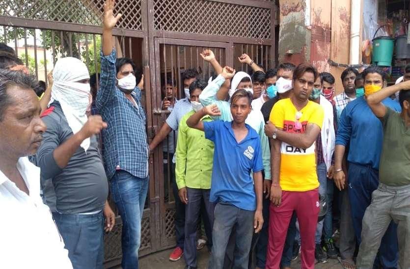 नगर निगम के भाजपा के 22 पार्षद, लेकिन प्रदर्शन में अकेले नजर आ रहे नेता प्रतिपक्ष
