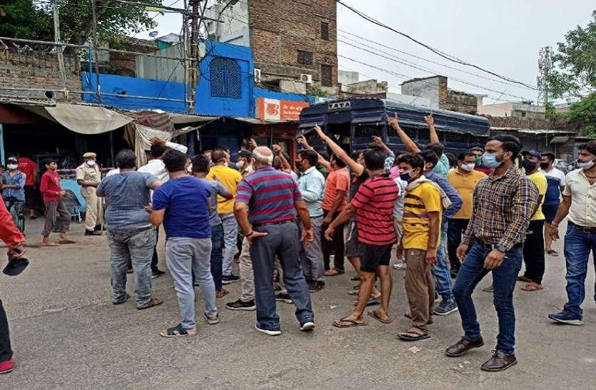 नगर निगम के खिलाफ अनशन करना भाजपा कार्यकर्ता को भारी पड़ा