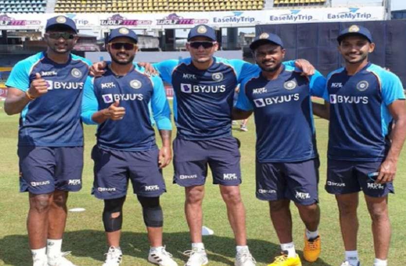 सैमसन और राणा सहित भारत के पांच खिलाड़ियों ने वनडे में डेब्यू किया