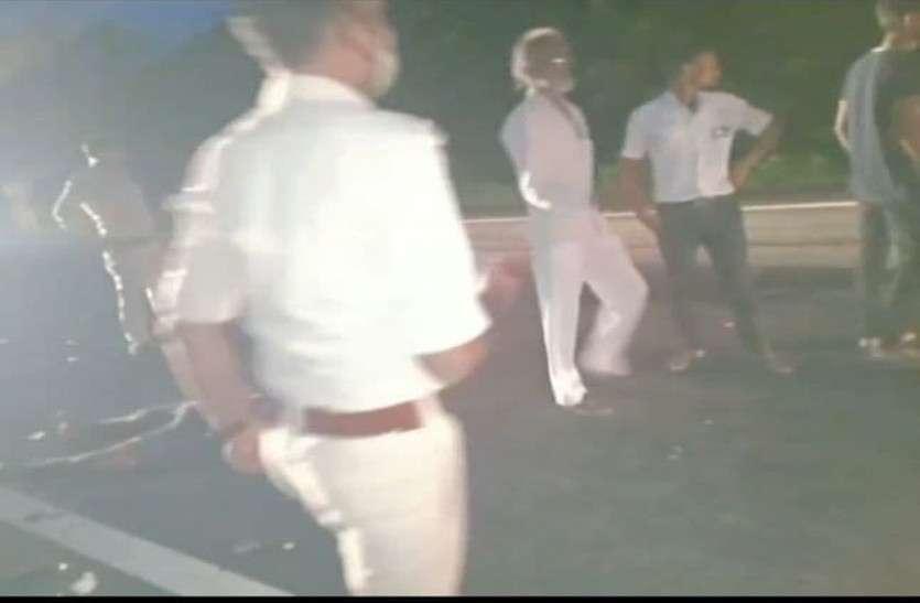 Chhindwara Road Accident तेज रफ्तार कार ने मारी टक्कर, दो की मौके पर ही मौत