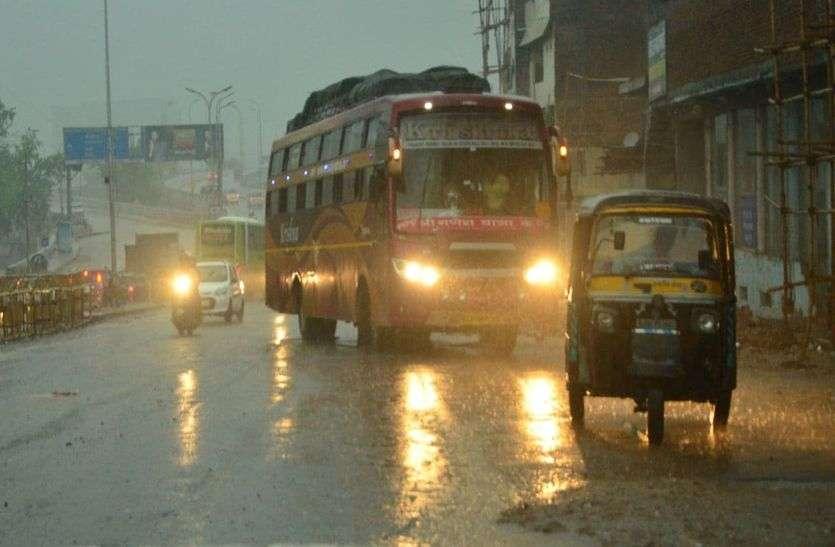 Barsat and Sawan : तेज बरसात से सावन का स्वागत, इन्द्रदेव ने बरसाई खुशियां