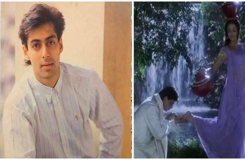 Salman Khan Shoot Scene With Aishwarya Rai In Devdas Movie