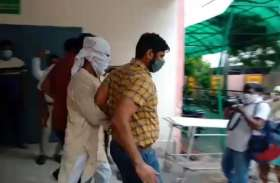 जम्मू कश्मीर पुलिस और एटीएस ने शामली से फल व्यापारी इजहार काे उठाया