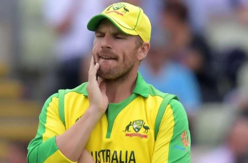 ऑस्ट्रेलियाई कप्तान फिंच विंडीज और बांग्लादेश के खिलाफ सीरीज से बाहर