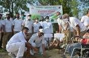 बीएसएफ ने सीमा चौकियों व हैडक्वार्टर सहित अन्य स्थानों पर लगाए साढ़े तीन हजार पौधे