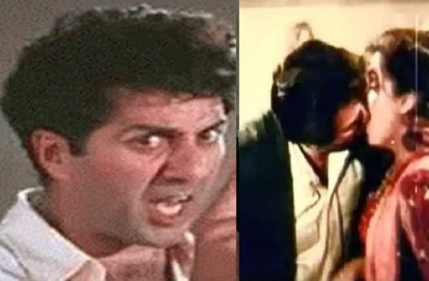 kissing scene controversy between Dharmendra and Dimple Kapadia