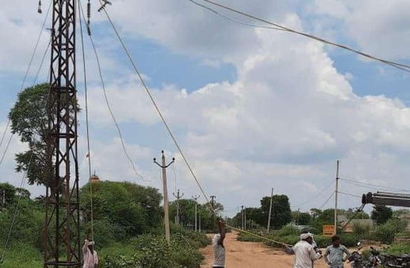 बिजली तंत्र की खुली पोल, गर्मी में परेशान रहे शहरवासी