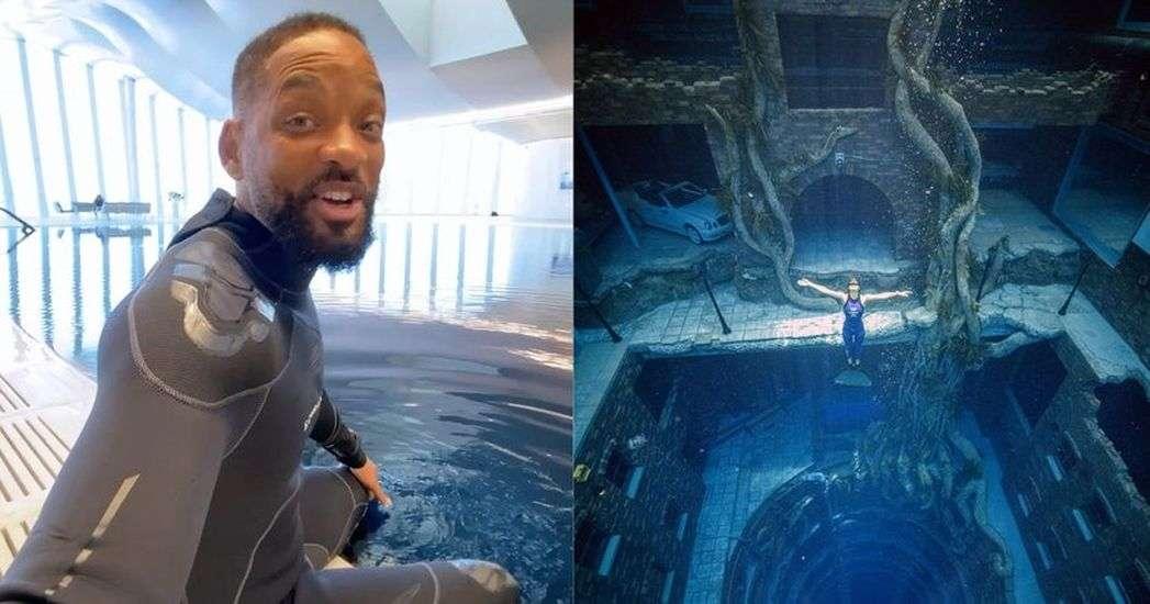 दुनिया के सबसे गहरे स्वीमिंग पूल के नीचे मौजूद है पूरा शहर