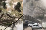 हिमाचल के किन्नौर में बड़ा हादसा: भूस्खलन के बाद चलते टेंपो ट्रैवलर पर चट्टान गिरने से 9 पर्यटकों की मौत, पुल भी टूटा