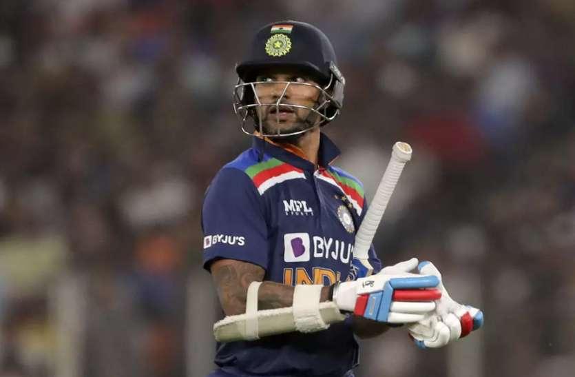 IND vs SL Ist T20 : श्रीलंका के खिलाफ मैदान पर उतरते ही धवन के नाम दर्ज हो जाएगा एक नया रिकॉर्ड