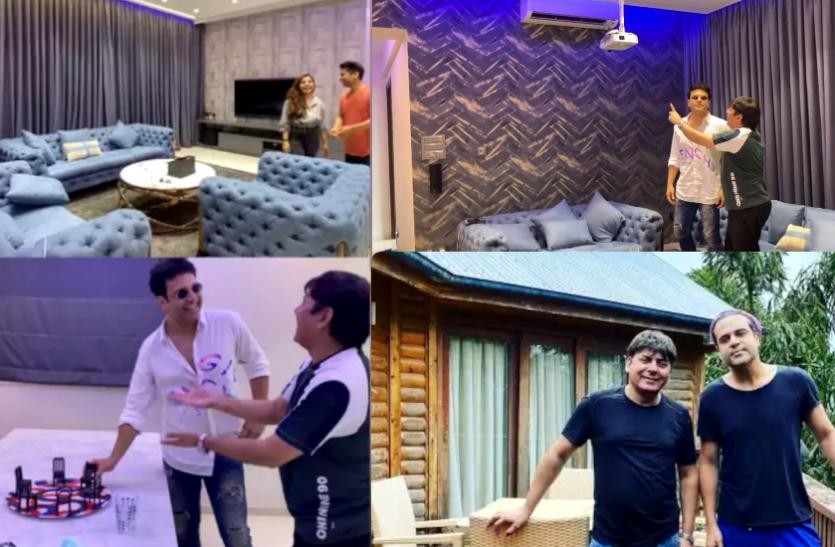 Kapil Sharma Show Fame Sudesh Lehri 4BHK Apartment Photos And Video – The Kapil Sharma Show's new entry Sudesh Lahiri has a luxurious 4BHK house, see the view