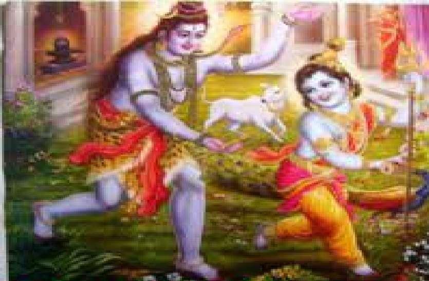 shri krishna and lord shiv