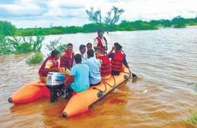 बारिश का कहर, 25 गांव डूबे