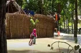 बाराबंकी में सरयू नदी का तांडव, देखें वीडियो