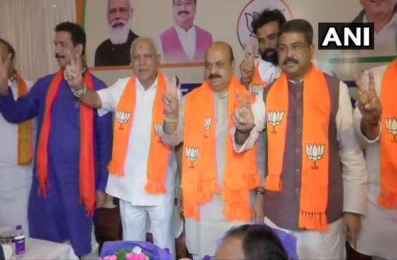 कर्नाटक: गृह मंत्री बसवराज बोम्मई होंगे राज्य के अगले CM, आज सुबह 11 बजे लेंगे शपथ