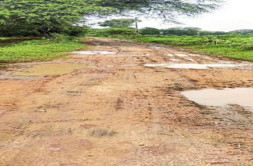 40 वर्ष से ग्रामीण कर रहे सड़क की मांग, स्वीकृति के बाद भी भूला विभाग