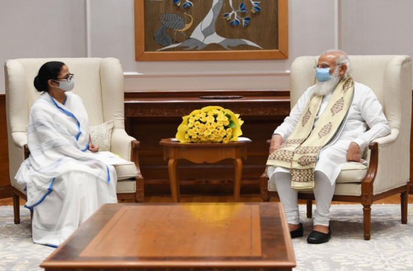 PM मोदी से मिलकर बोलीं ममता, जनसंख्या के हिसाब से हमें मिलनी चाहिए वैक्सीन, जवाब मिला- जरूर देखेंगे