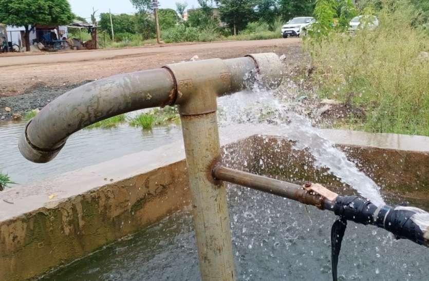 मड़ीखेड़ा डैम के पानी का नपा पर 3 करोड़ कर्जा