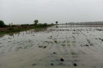 भारतमाला परियोजना में ड्रेनेज सिस्टम की खामी भुगत रहे किसान