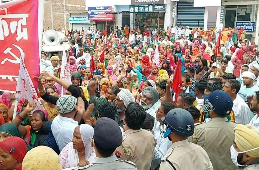 यह हनुमानगढ़ की धरती है, बड़े-बड़े अधिकारियों को ठीक करके भेजा है