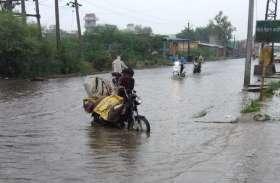 दो बारिशों से ही हाल बेहाल,  निचले क्षेत्रों में भरा पानी