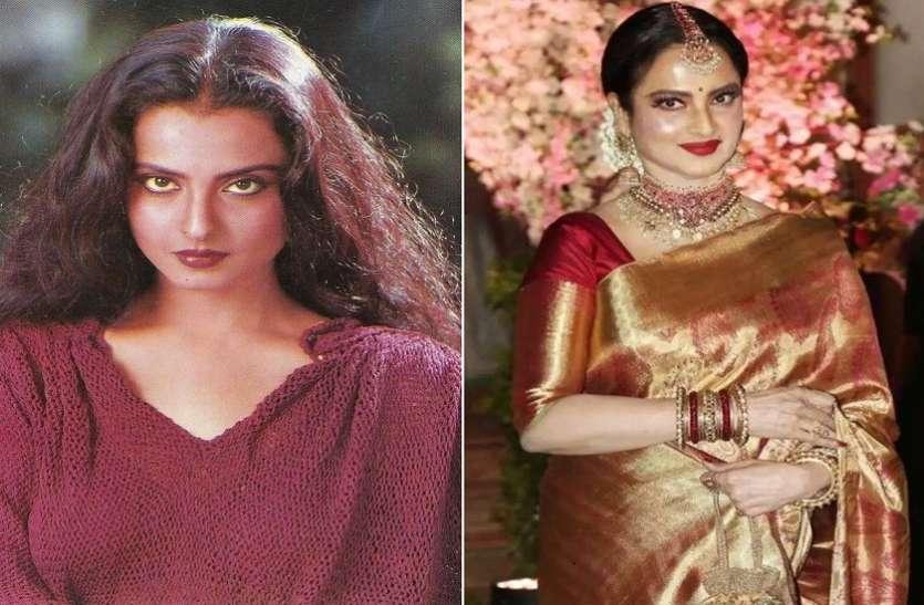 Bollywood Actress Rekha Beauty Secrets