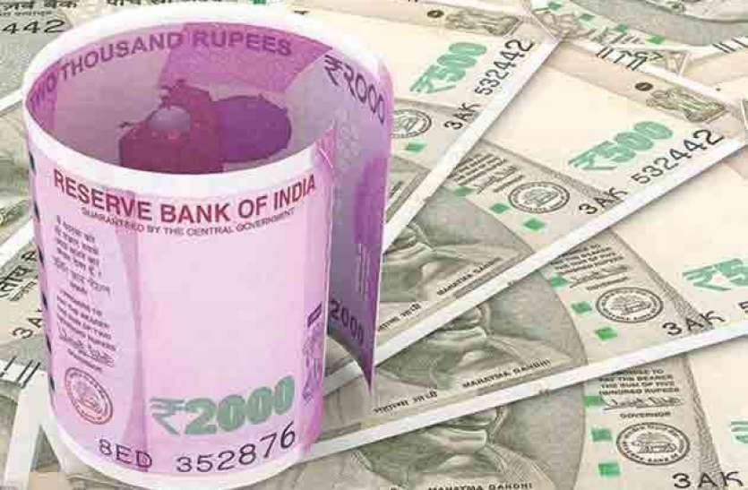 Indian Currency News update: 9 पैसे की तेजी के साथ रुपया 74.38 प्रति डॉलर पर हुआ बंद
