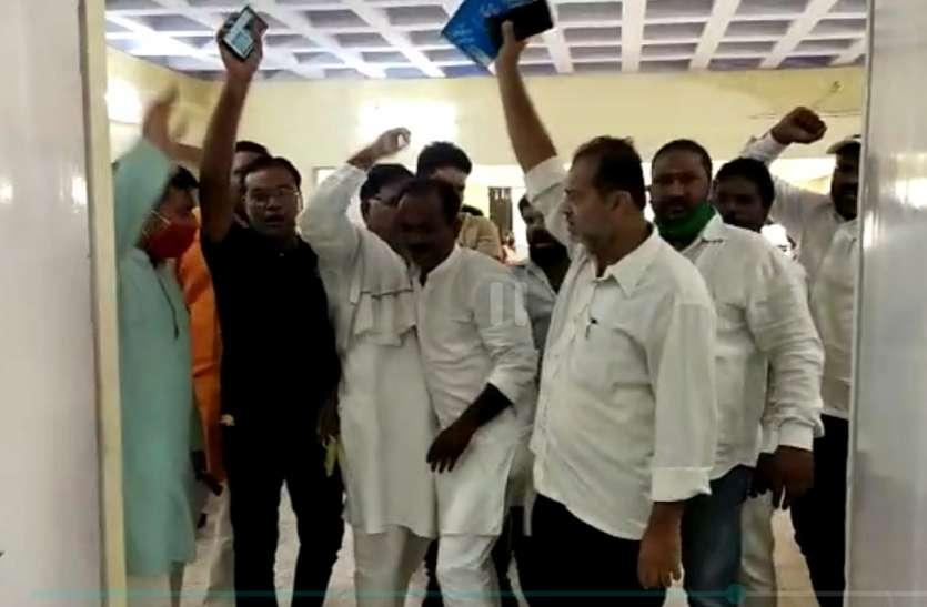 Ayodhya : नगर निगम अयोध्या में हंगामे दार बोर्ड की बैठक, 276 करोड़ का बजट पास