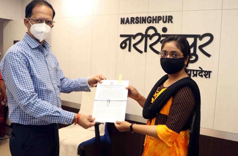 मुख्यमंत्री कोविड 19 अनुकम्पा नियुक्ति योजना में 9 लोगों को दिये नियुक्ति पत्र