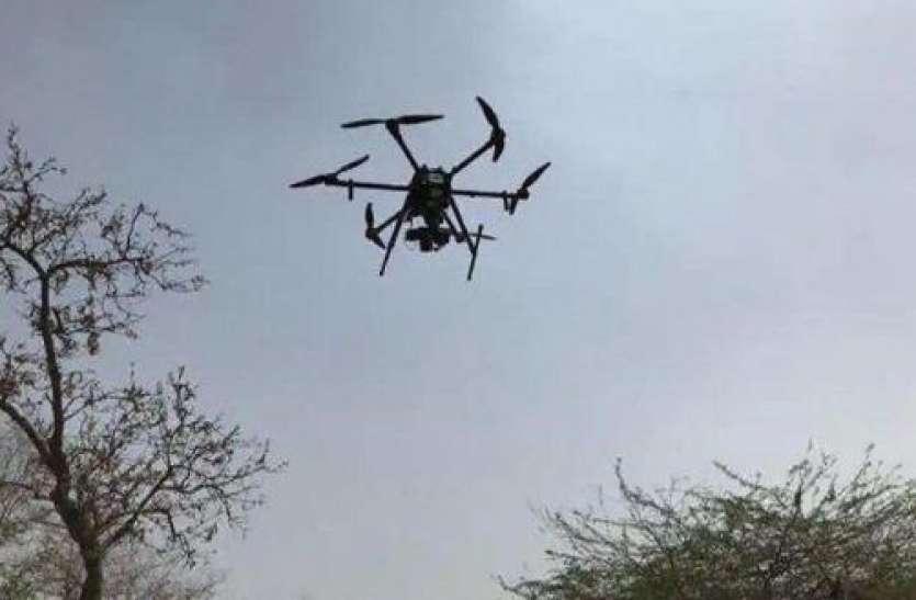 अब आसमान से दहशत फैलाने की ताक में पाकिस्तान, जम्मू के सांबा में फिर दिखाई दिए तीन ड्रोन